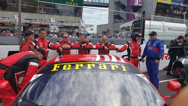 Le Mans 24 Hours- It's More Than Just Racing team ferrari