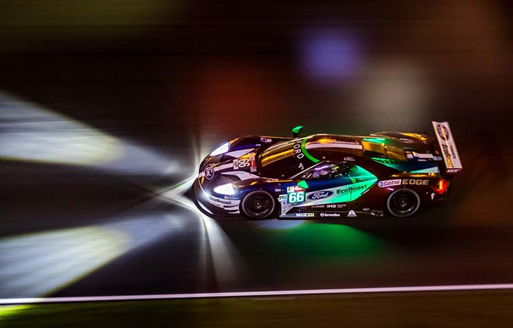 Le Mans 24 Hours- It's More Than Just Racing At night Ford