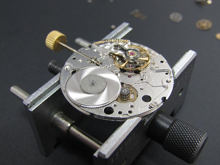 """""""Watch movement skilfully re-assembled and checked for accuracy"""" Omega watch"""