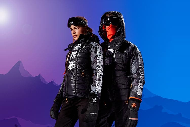 Superdry men's Japan Edition Snow Down jacket.