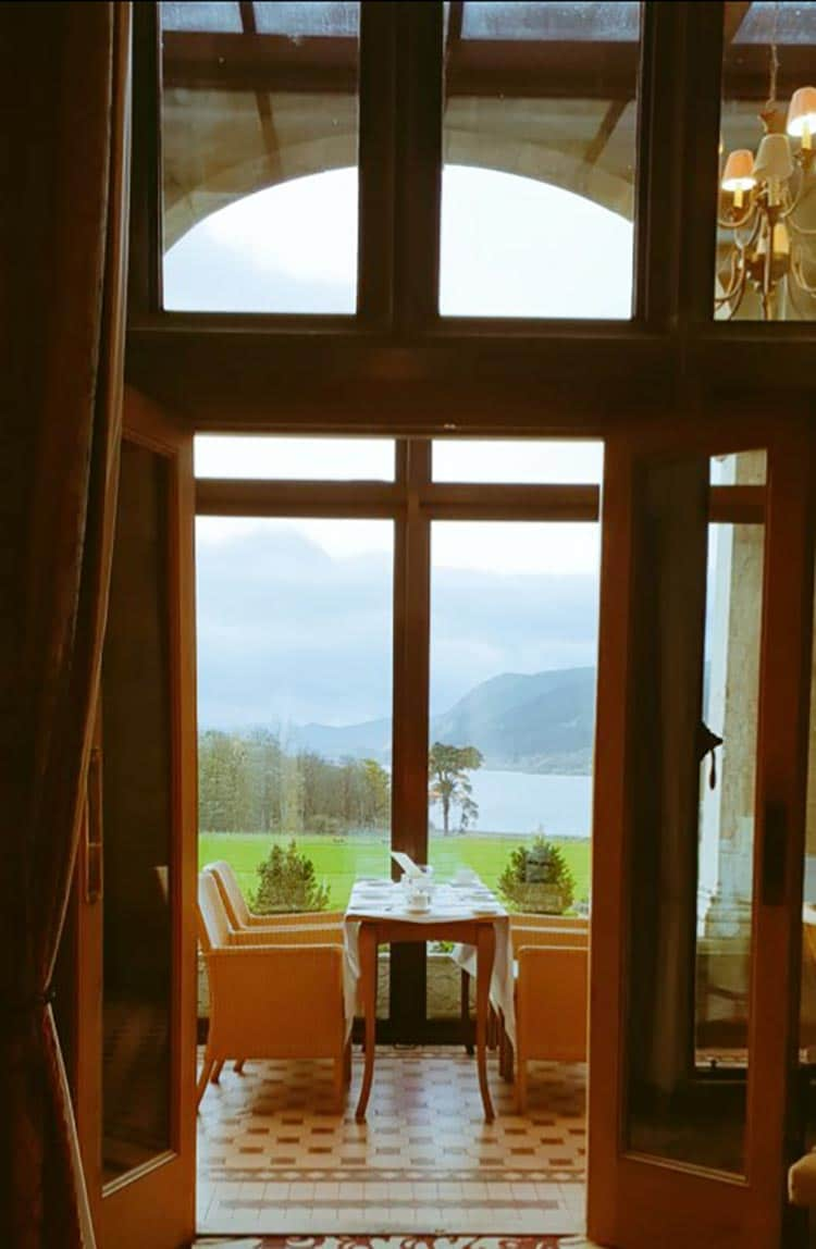 Restaurant With A Lake View Bassenthwaite Lake and the surroundings Skiddaw mountain range