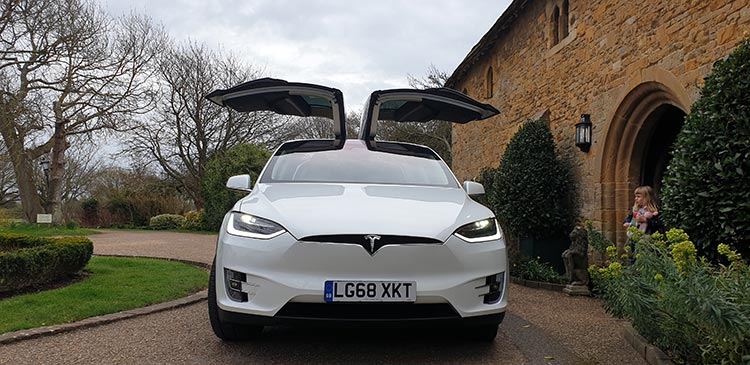 Tesla Model X Bailiffscourt Hotel And Spa