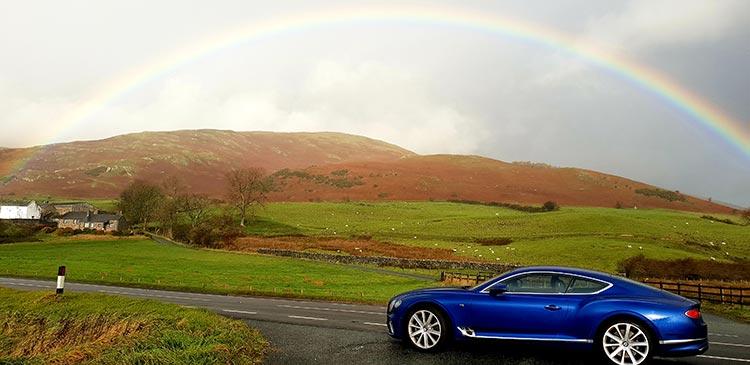 Bentley GT Continental - Grand Tourer Coupe Sequin Blue United Kingdom menstylefashion luxury car 2018 (2)