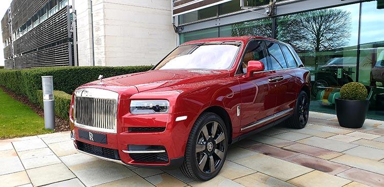 Cullinan Royce Rolls