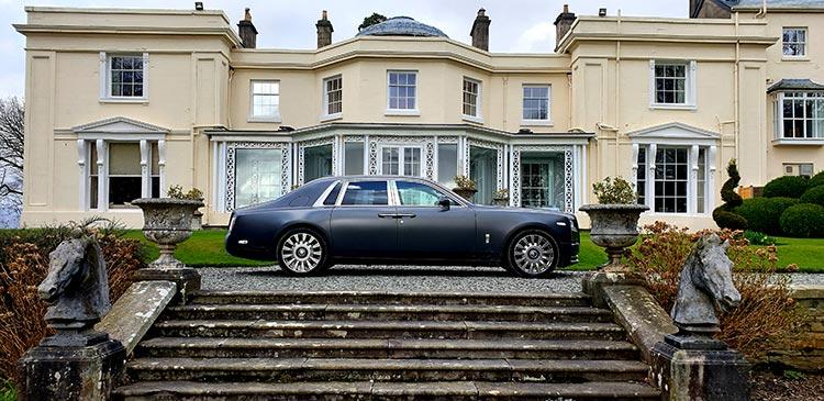 Lake District Storrs Hall Hotel Rolls Royce Phantom