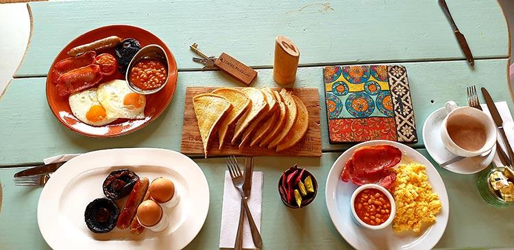 Swinton Estate Bivouac North Yorkshire (2) Breakfast