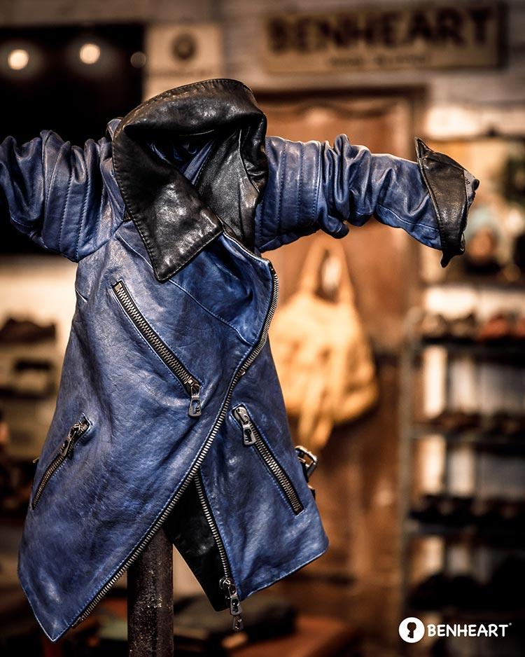 Benheart Italy Luxury Bespoke Leather Men Style Fashion