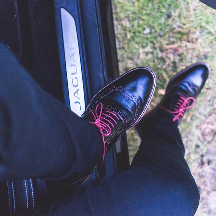 London Brogues - Film Inspired Shoes Jaguar IPACE MenStyleFashion (2)