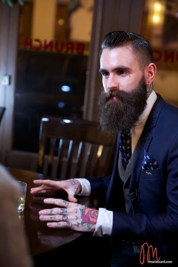 Ricki Hall Tatoo Beard Model MenStyleFashion British Lifestyle (2)