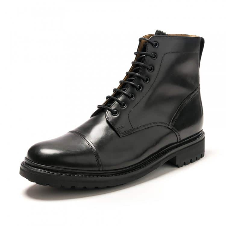 Grenson Joseph black calf boot