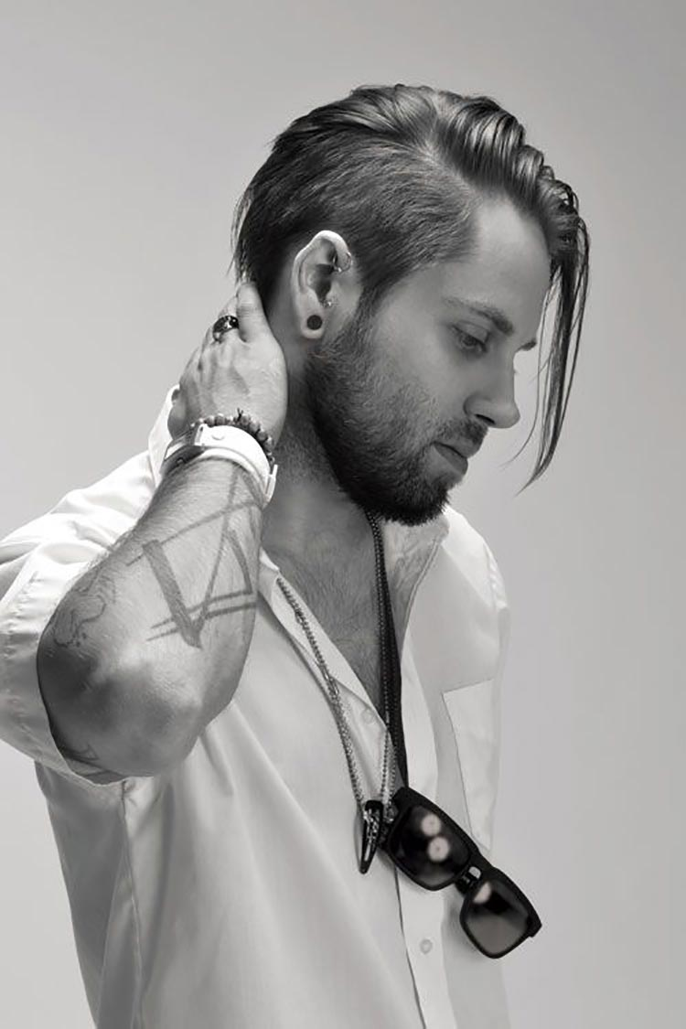 Undercut Fade - Hairstyles for Men - Men Style Fashion