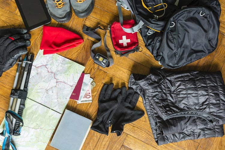 Packing List Travel