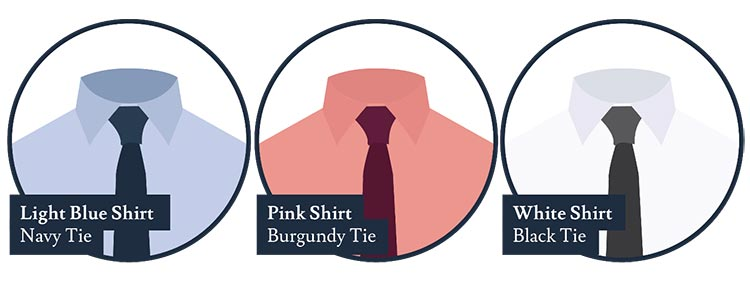 Co-ordinating Colours - A Shirt And Tie Guide (2)