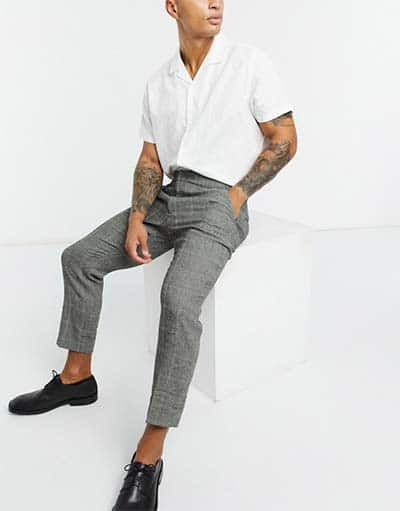 Woolen trousers by Asos design