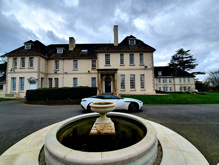 Aston Martin Brockencote Hall Hotel review DB11 2020 (1)