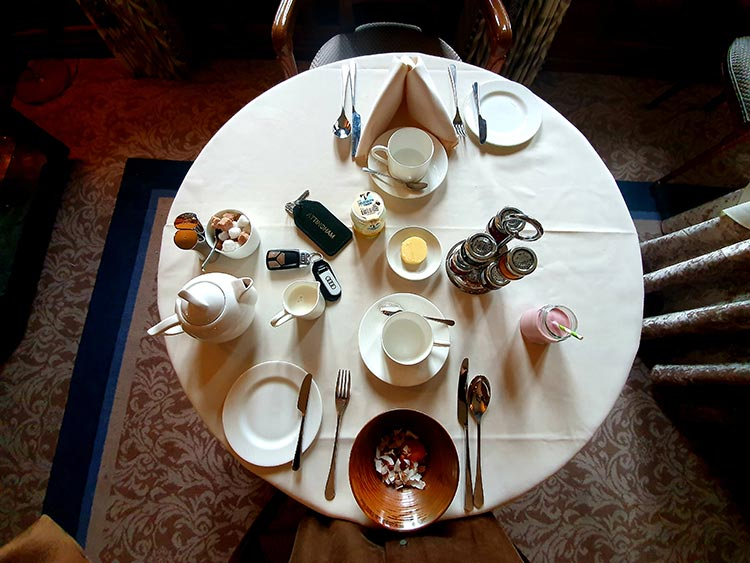 Mallory Court Country House Hotel & Elan Spa breakfast