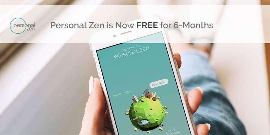 Personal zen app