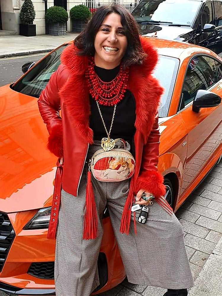 AudiTT Pulse Orange 2020 London Ritz Gracie Opulanza car review