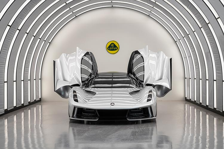 Lotus Evija – All Electric Hypercar Exclusive Interview