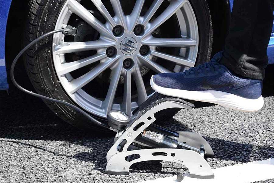 car tire foot pump