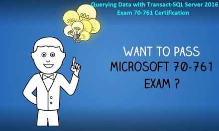 Why is Microsoft Exam 70-761 Eminent for System Engineers? Where to Get Best Exam Dumps for It?