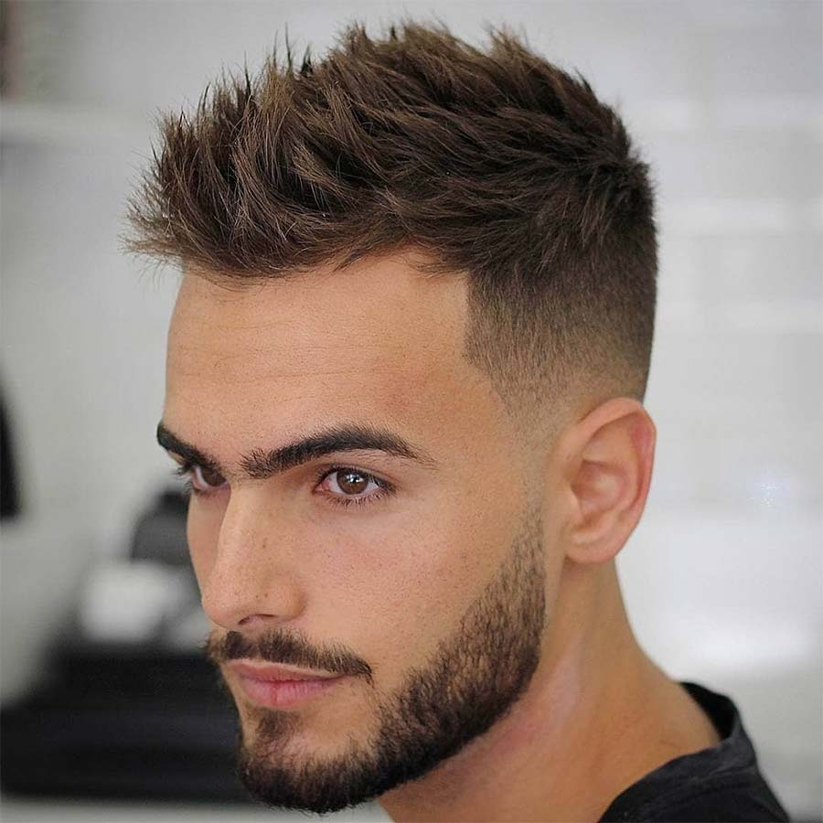 10 Simple And Easy Hairstyles For College Guys