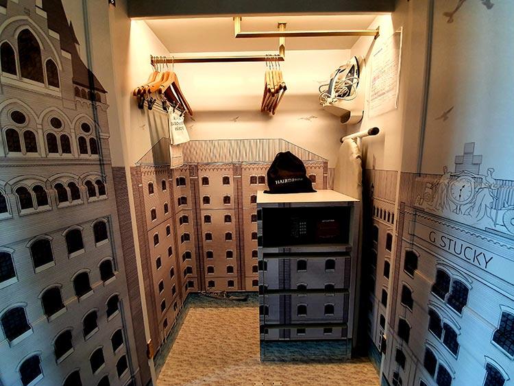 Hilton Molino Stucky Venice - Flour Factory Preserving Italian History cupboard