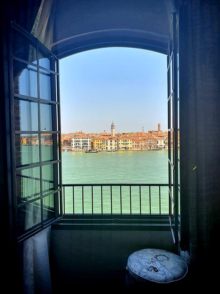 Hilton Molino Stucky Venice - Flour Factory Preserving Italian History room 502 view