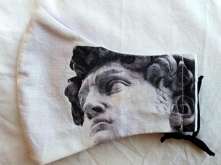 Florence Art On Made To Order Face Masks