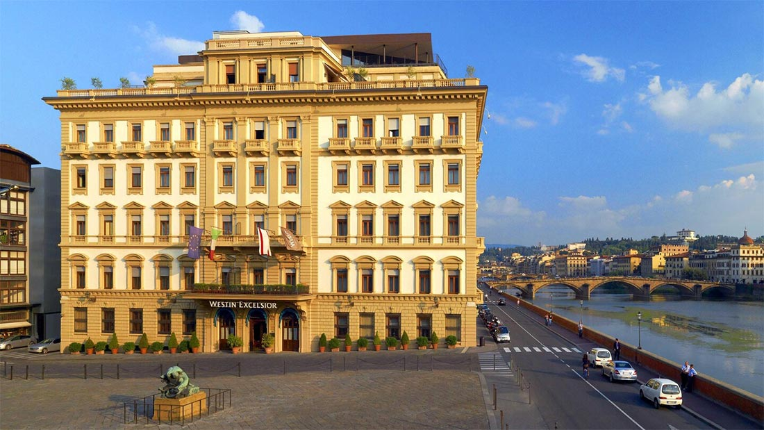 The Westin Excelsior Florence Hotel Review – 360 Degree Views