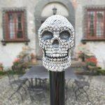 Archer Adams – Damien' Swarovski Skull Umbrella