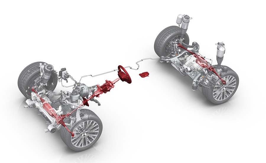 Audi A8 Active Suspension system