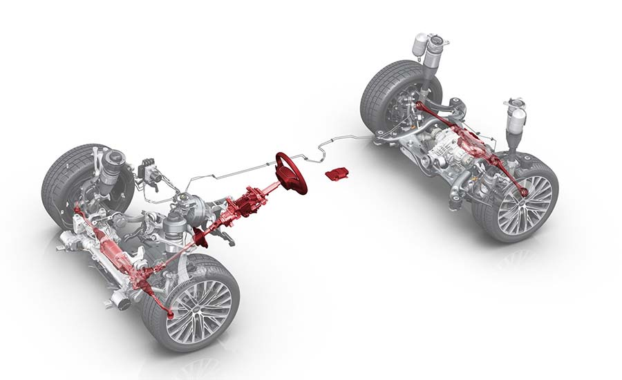 Audi A8 Active Suspension system