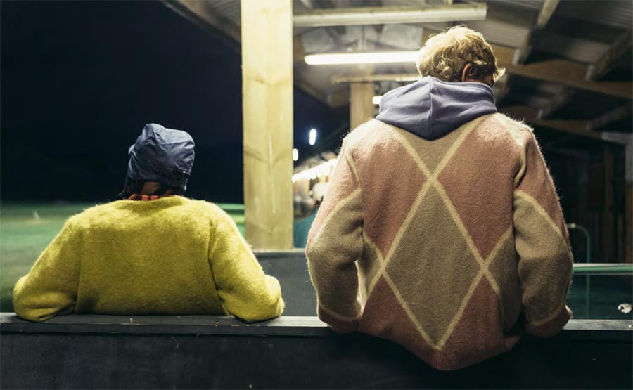 Lyle & Scott X Oi Polloi - Block & Argyle Mohair Cardigans