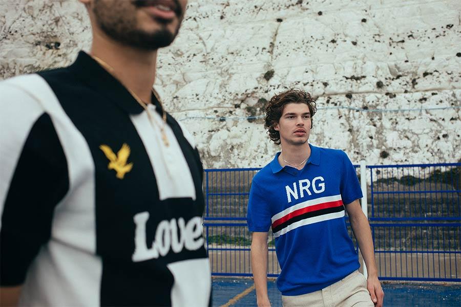 Juventus and Sampdoria inspired polo shirts Lyle & Scott Lovers FC