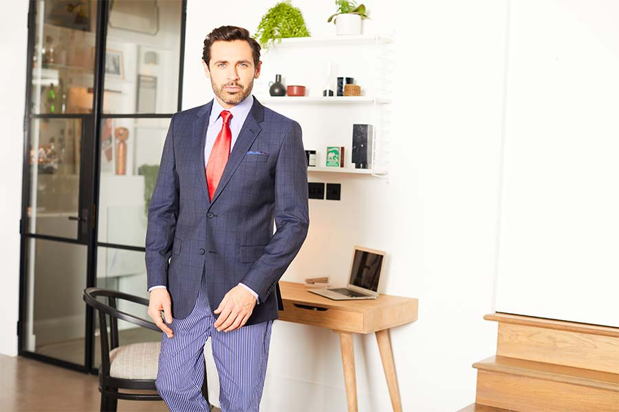 Savile Row Designer on Working From Home Winter Attire