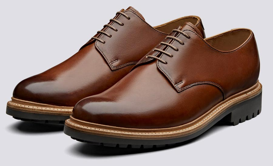 Derby style shoes Grenson