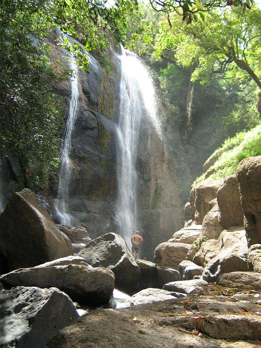 El Salto Canyon and Waterfall