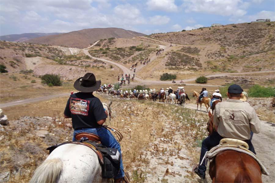 Enjoy a Horseback Ride at the Rancho Los Bandidos