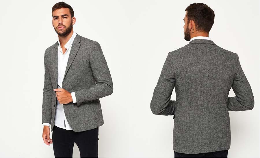 Superdry Supremacy Fine Wool Blazer