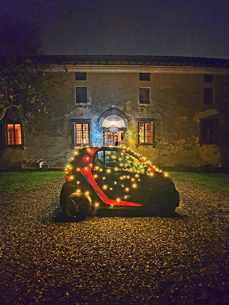 christmas car lights smart tuscany menstylefashion