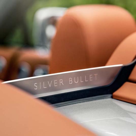Rolls Royce Dawn Silver Bullet Aero Cowling Name Angle