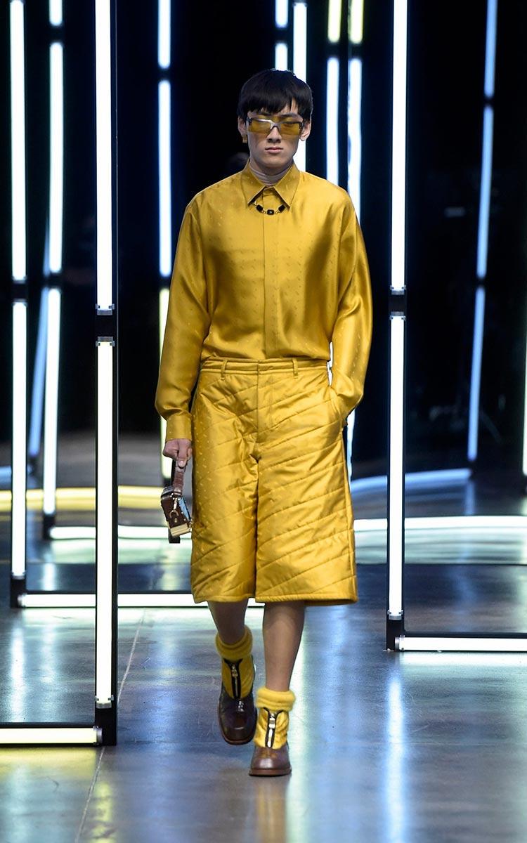 Gucci puffy shorts 2021 menswear