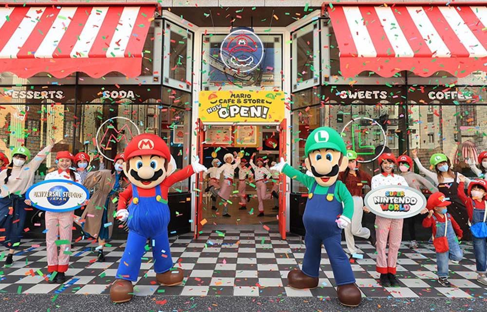 Mario Cafe opens at Universal Studios Japan