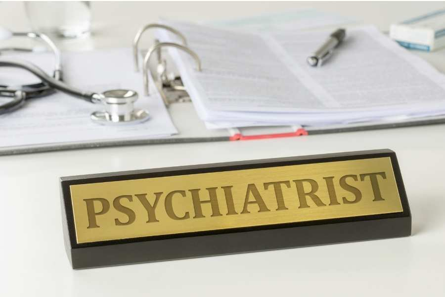 Psychiatrists make the diagnosis based on a checklist