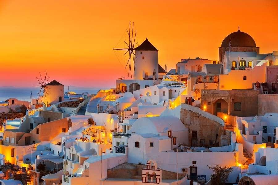 Santorini greek islands