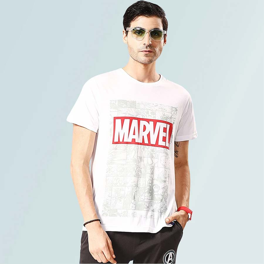 Marvel T-Shirt - White