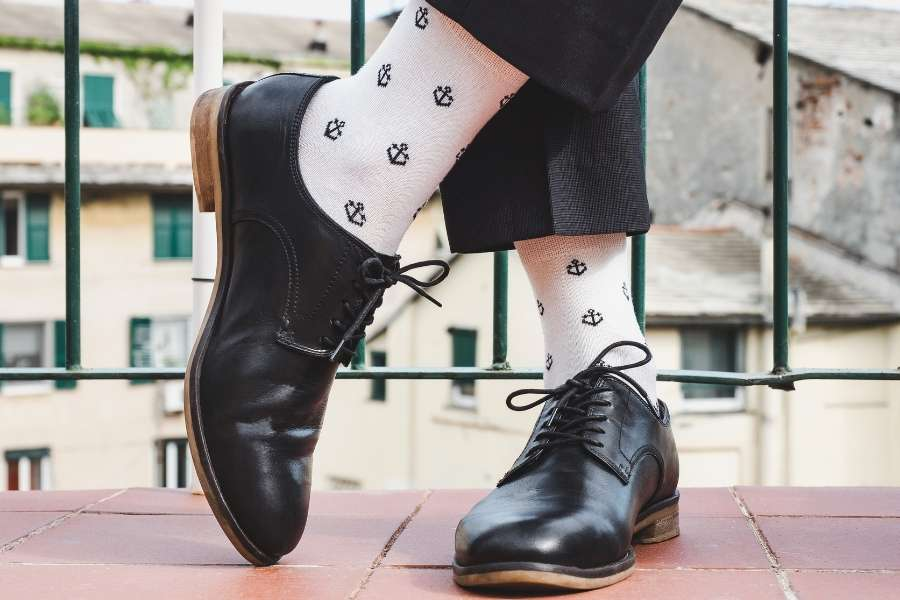sock shoe men