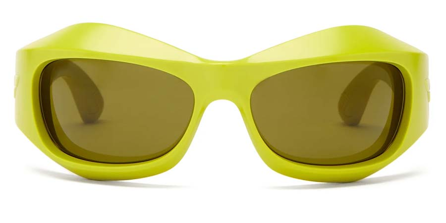 BOTTEGA VENETA mask acetate sunglasses