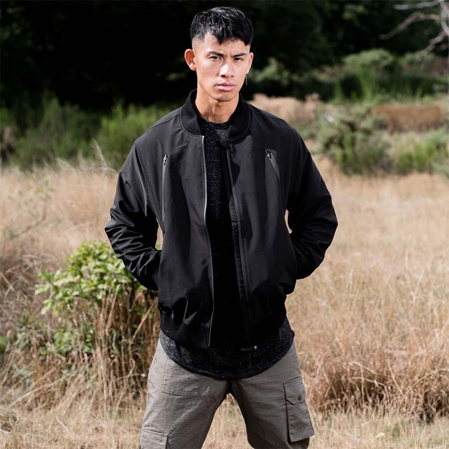 King apparel bomber jacket